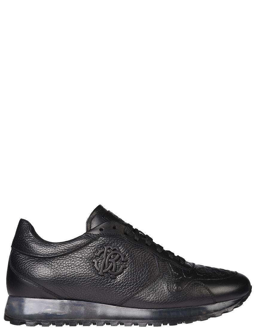 Мужские кроссовки Roberto Cavalli 5271_black