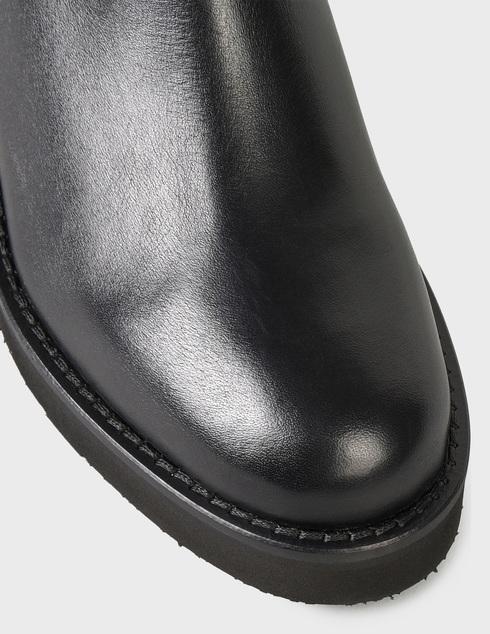 женские черные кожаные Ботинки Baldinini D2B361VIGE0000 - фото-5