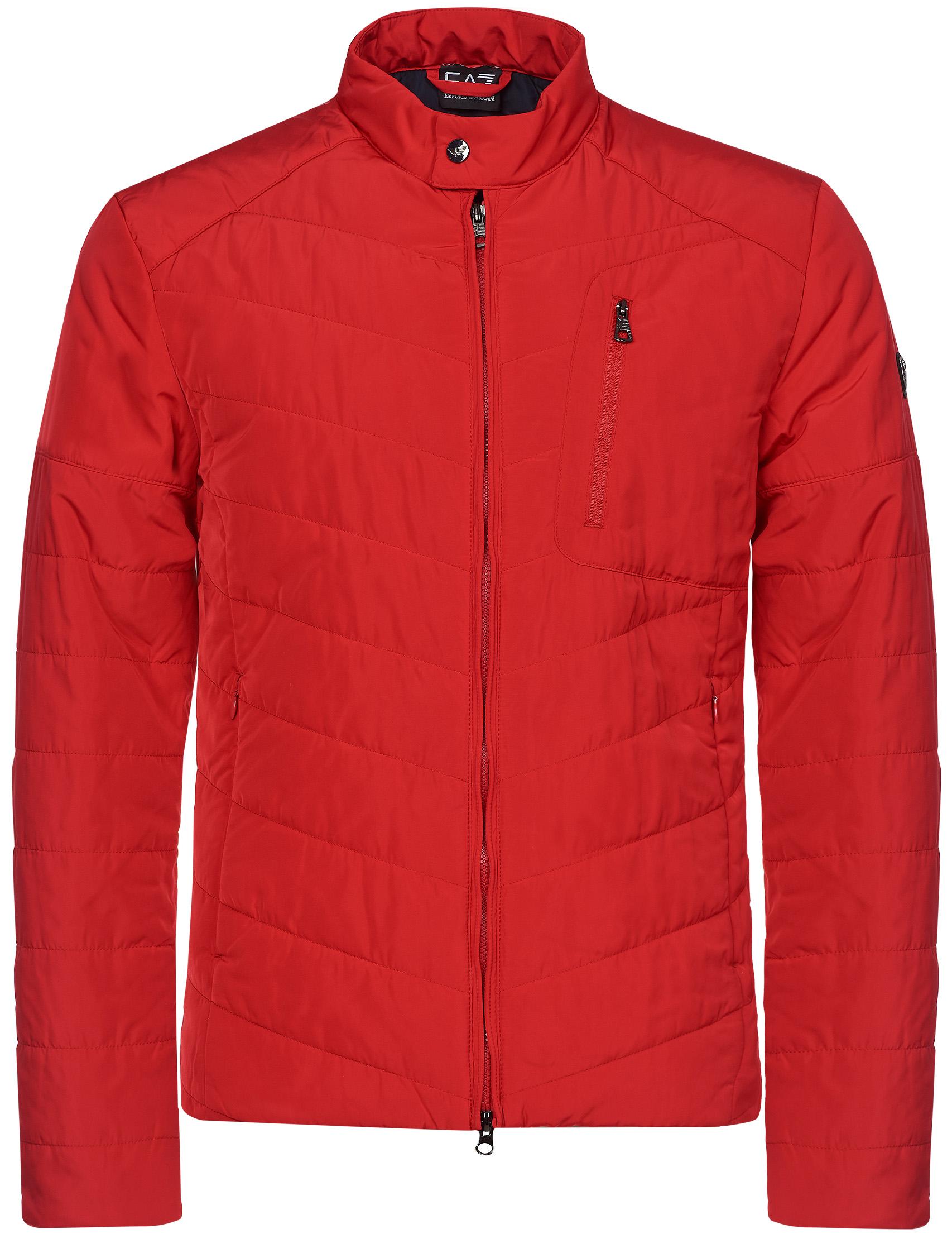 Купить Куртки, Куртка, EA7 EMPORIO ARMANI, Красный, 100%Полиэстер, Осень-Зима