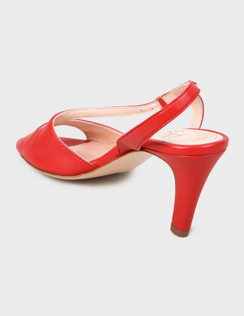женские красные Босоножки Agl D636044PCSOFTY0356 - фото-2