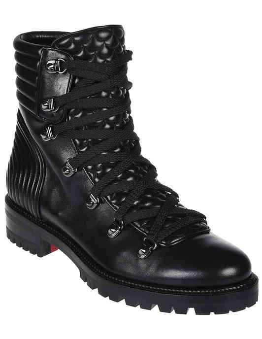 женские черные Ботинки Christian Louboutin AGR-3170955-К_black - фото-2