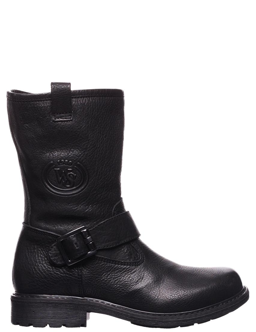 Детские сапоги для мальчиков WALK SAFARI 51981-black