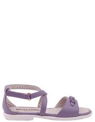 Детские босоножки для девочек MOSCHINO 25475-violet