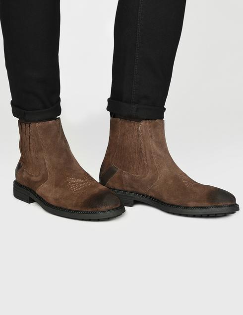 коричневые Ботинки Trussardi 77A001199Y09999-B220
