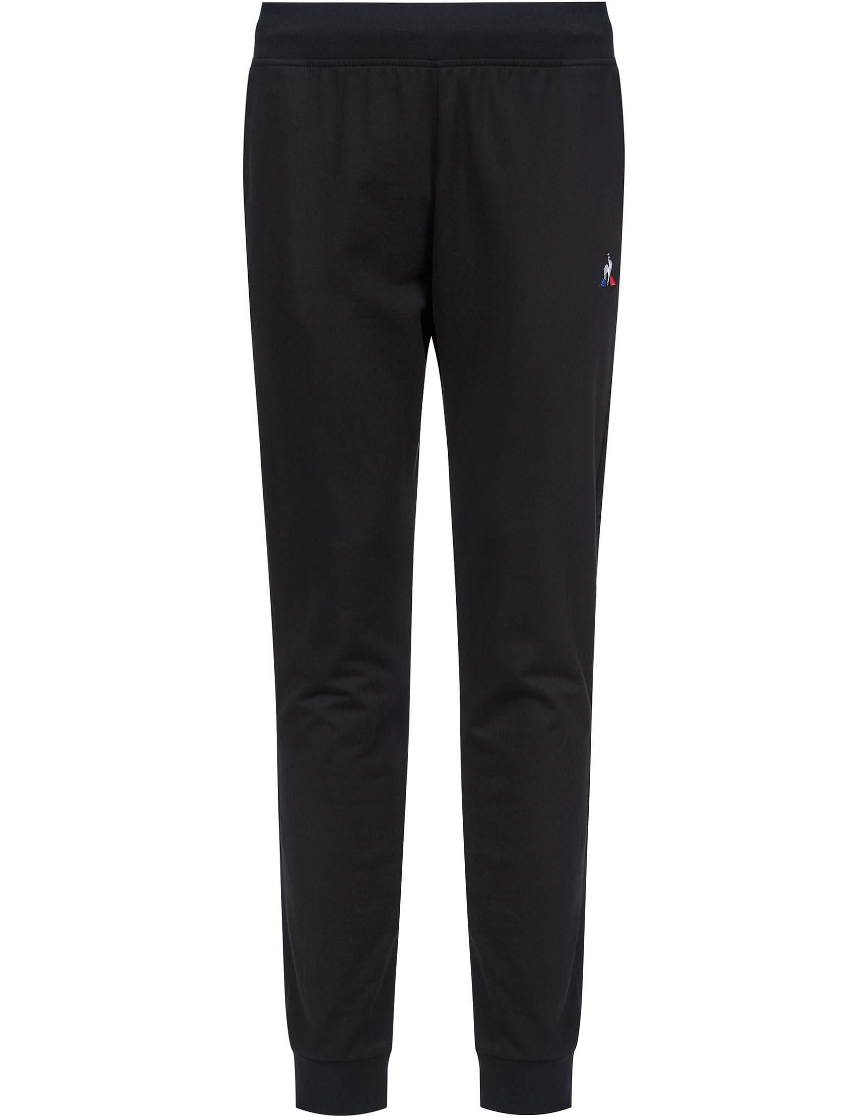 Купить Спортивные брюки, LE COQ SPORTIF, Черный, 100%Хлопок, Весна-Лето