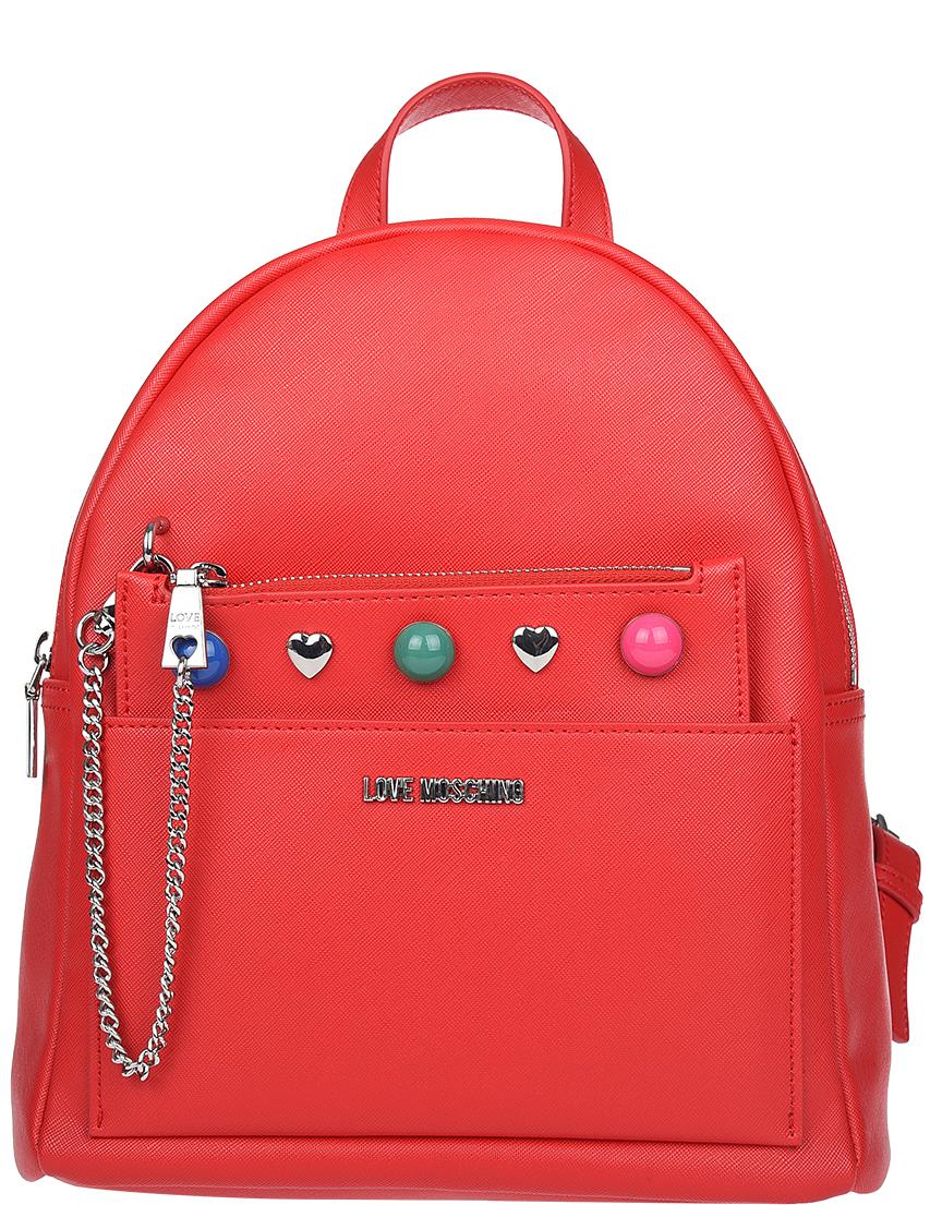 Рюкзак Love Moschino 4301_red