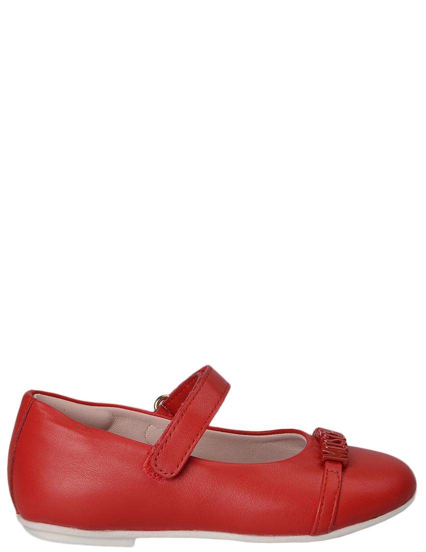 Купить Туфли, MOSCHINO, Красный, Весна-Лето
