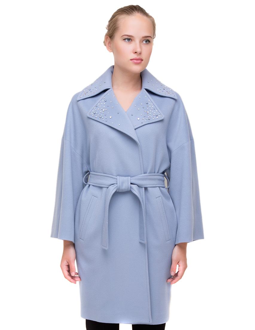 Купить Пальто, HERESIS, Серый, 100%Шерсть; подкладка 100%Вискоза, Осень-Зима