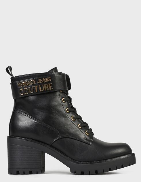 женские черные Ботинки Versace Jeans Couture 71VA3S90-899 - фото-7