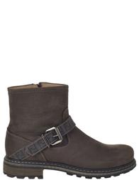 Детские ботинки для мальчиков FENDI 26775_brown