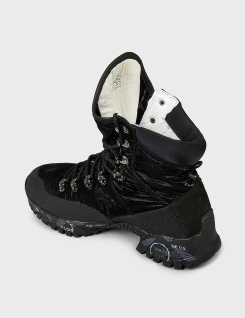 женские черные Ботинки Premiata MIDTRECD_0167D - фото-2