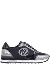 Женские кроссовки Trussardi Jeans 79022_black