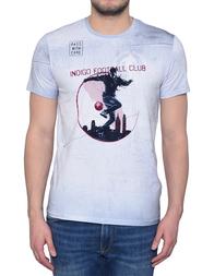Мужская футболка BIKKEMBERGS 740-0051_grey