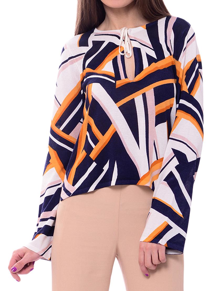 Купить Блуза, PATRIZIA PEPE, Многоцветный, 55%Хлопок 45%Вискоза, Весна-Лето