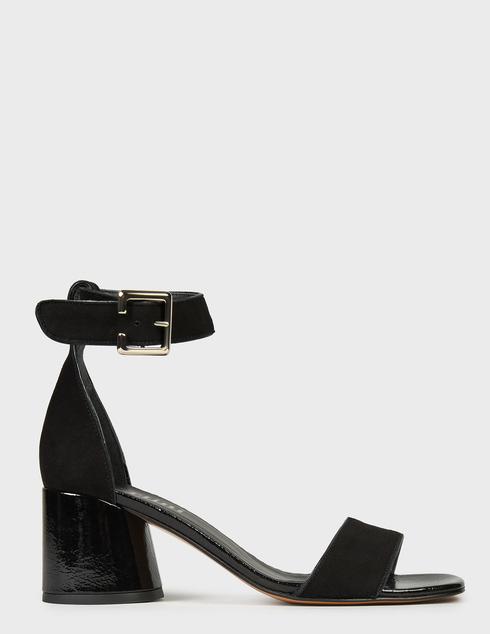 женские черные Босоножки Pertini 211W30801D3-V47 - фото-7