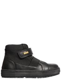 Детские ботинки для мальчиков Naturino Gorelly-vitello-nero_black