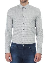 Мужская рубашка BIKKEMBERGS 009-00-0055_black