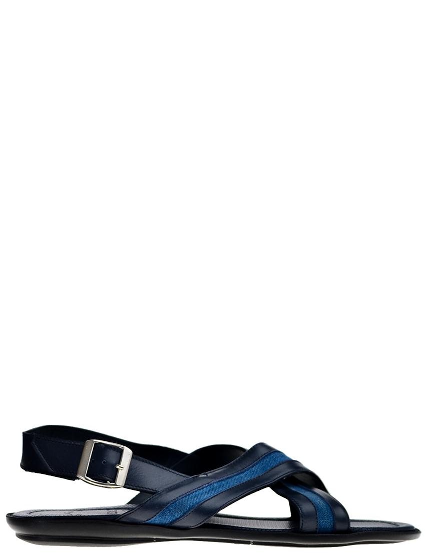 Мужские сандалии DoucalS AGR-N1600_blue