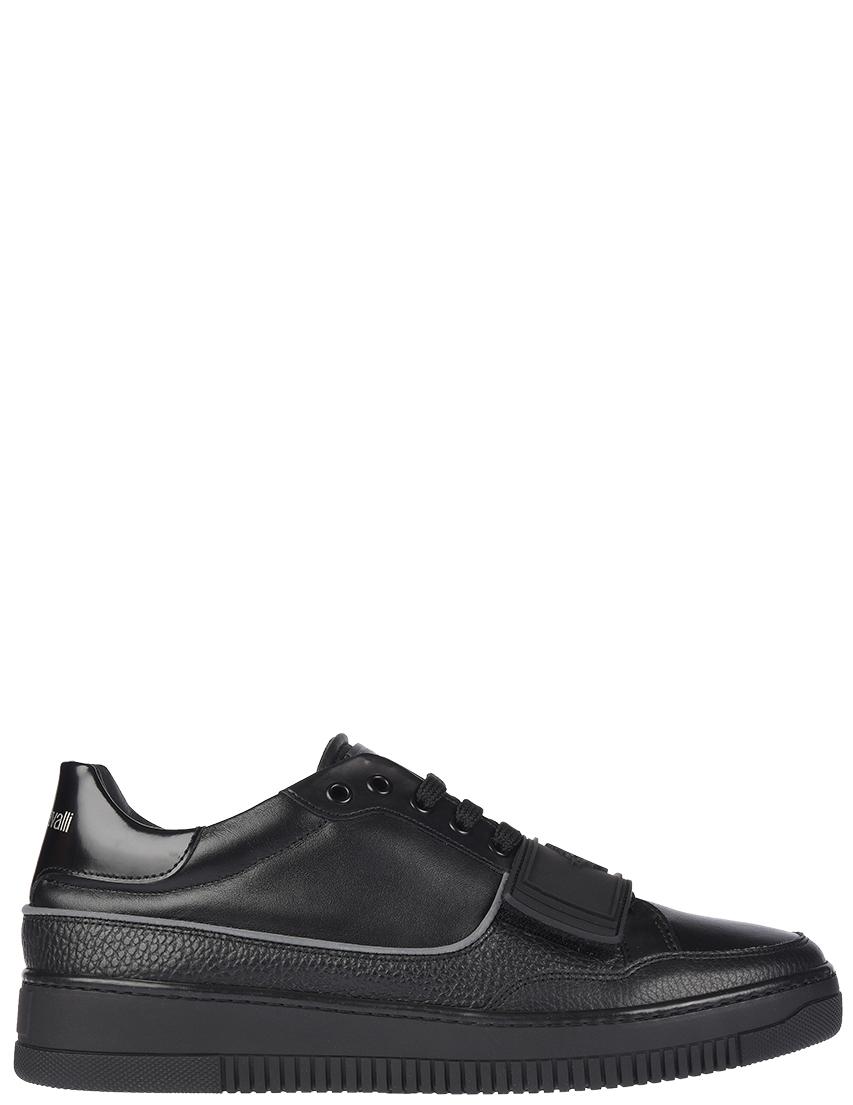 Мужские кроссовки Roberto Cavalli 5260A_black
