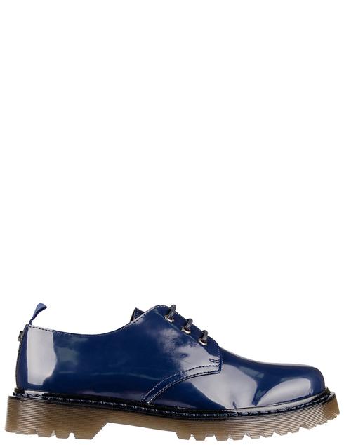 мужские синие  Дерби Trussardi 77A001259Y099999-U280 - фото-5