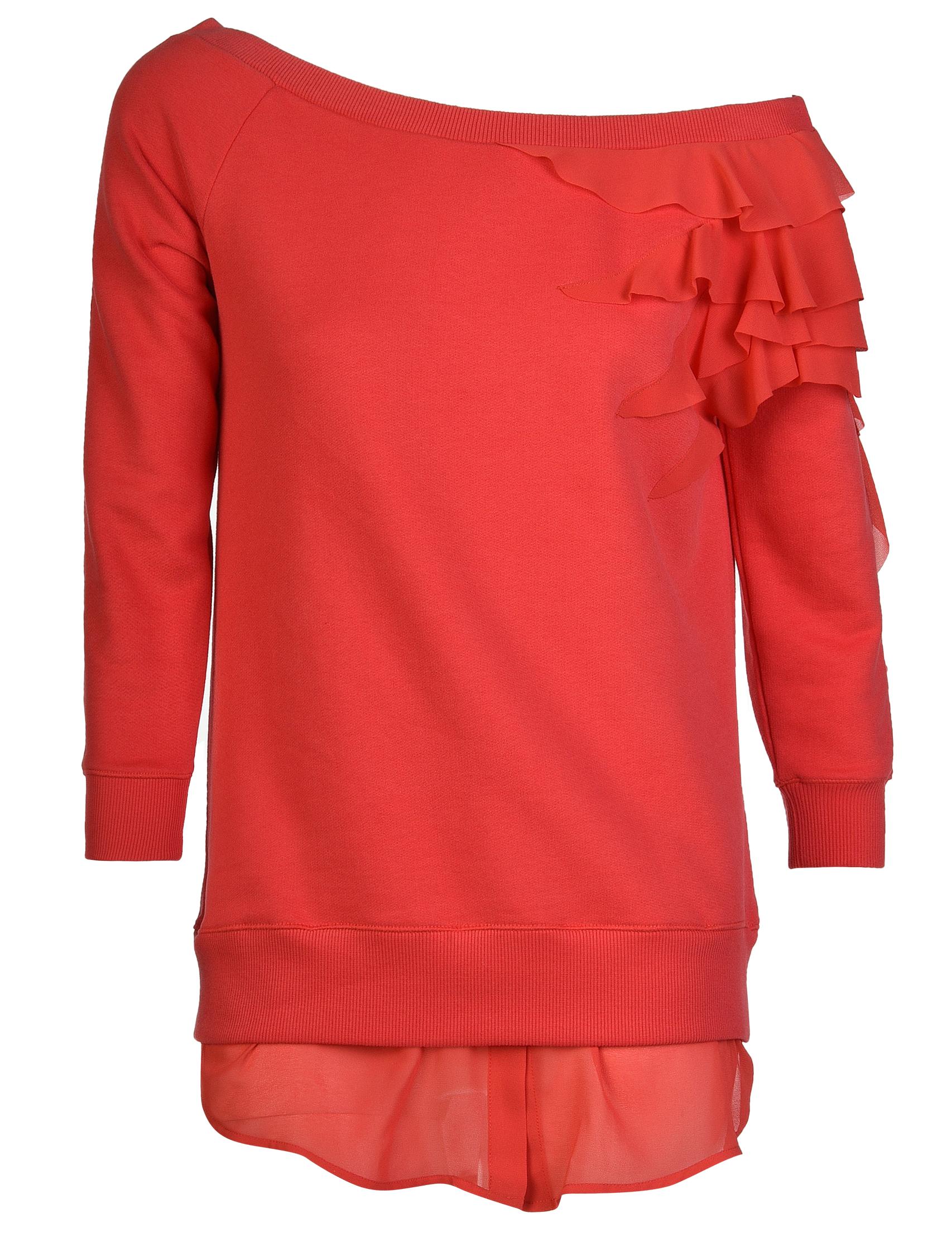 Купить Джемпер, PATRIZIA PEPE, Красный, 100%Хлопок, Осень-Зима