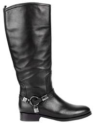 Женские сапоги MASSIMO SANTINI 101-black