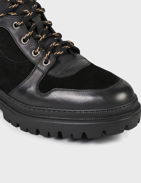 мужские черные кожаные Ботинки Henderson Baracco 81530.VMN.0 - фото-5