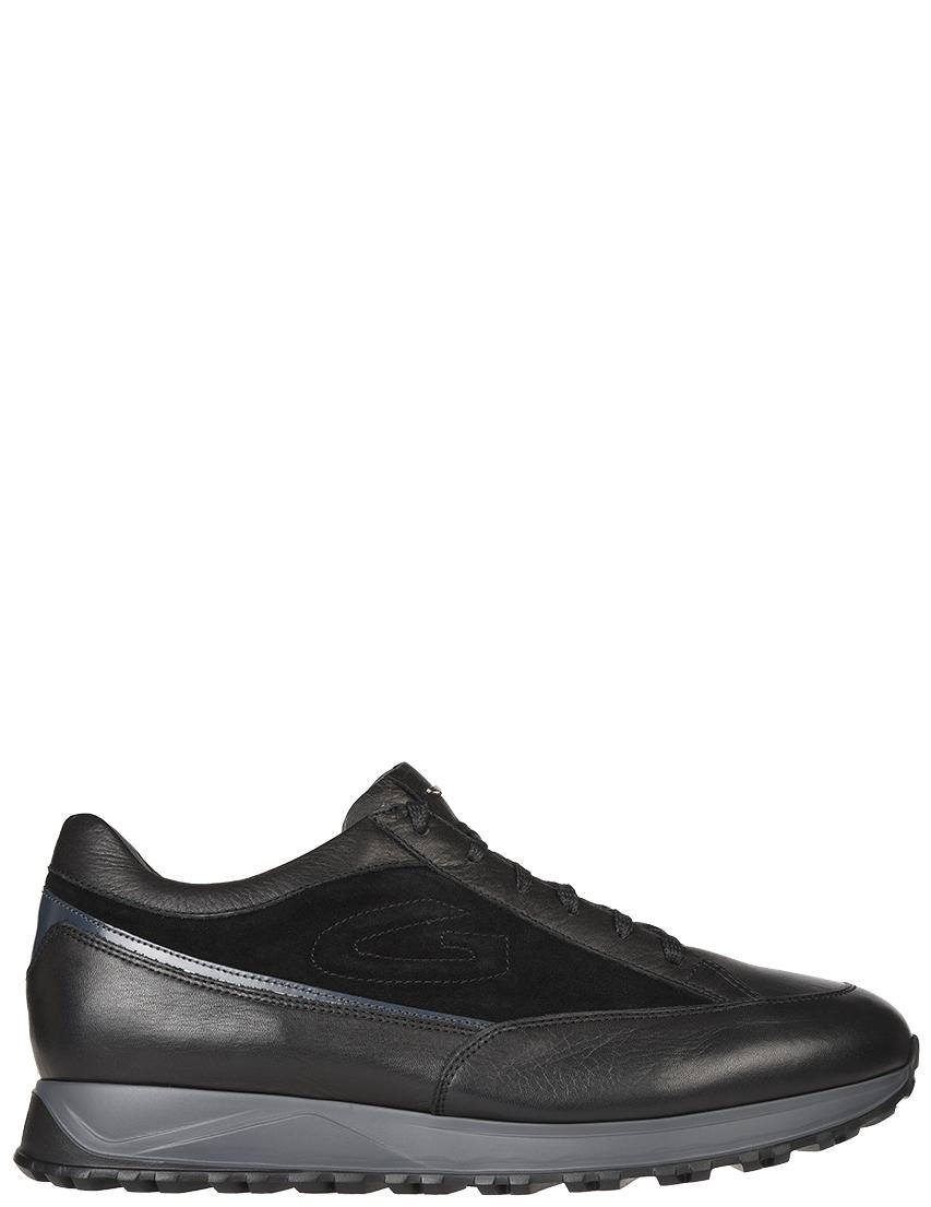 Мужские кроссовки Alberto Guardiani 77361-МК-З_black
