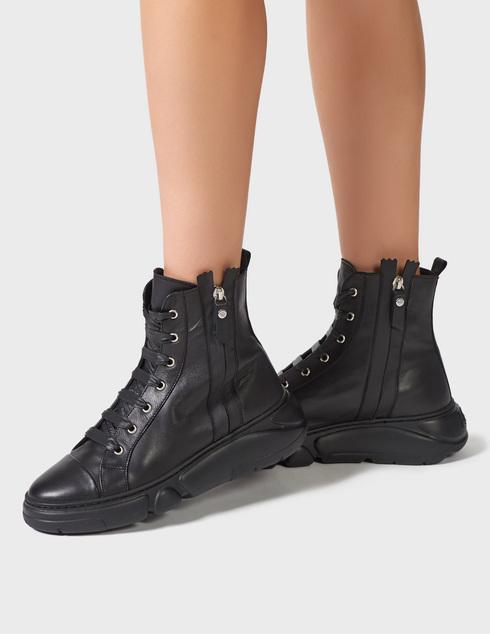 черные Ботинки Agl D938505BGKA0761013