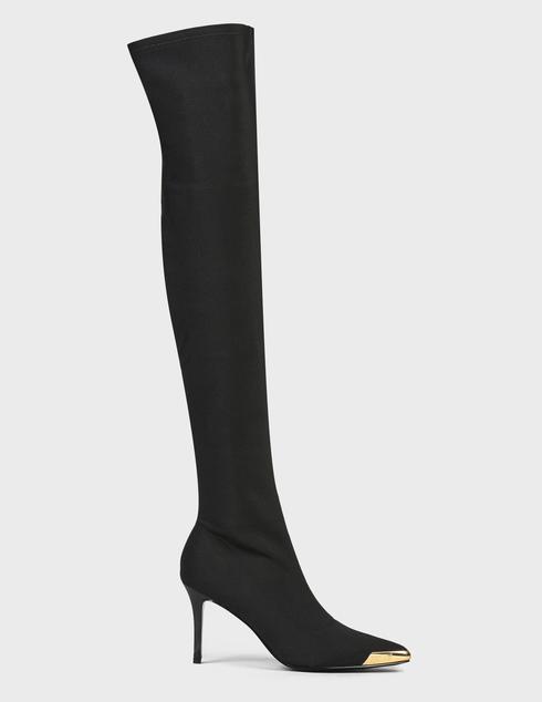 женские черные Ботфорты Versace Jeans Couture 71VA3S53-899 - фото-2