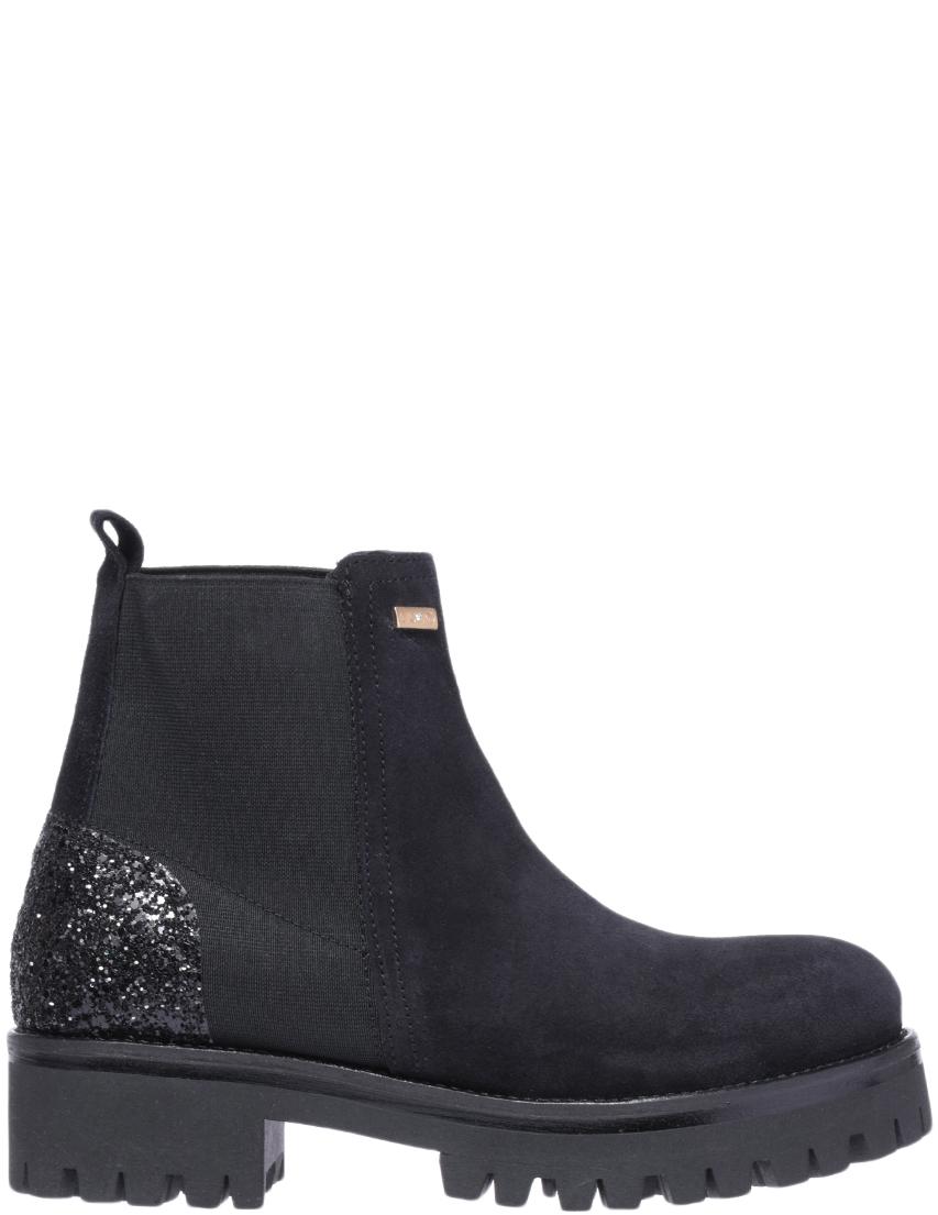 Купить Ботинки, LIU JO, Черный, Осень-Зима