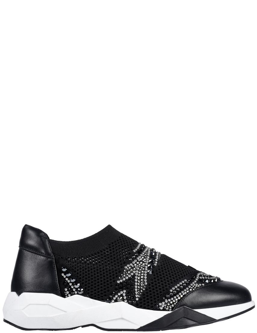 Текстильные чёрные кроссовки LORIBLU (ITALY)