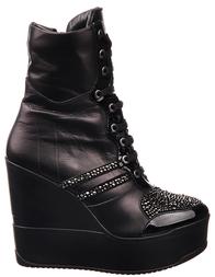 Женские полусапоги ASYLUM 9588-black