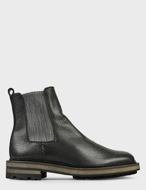 мужские черные Ботинки Pertini 202M24843D2 - фото-6