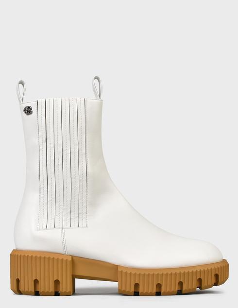 женские белые Ботинки Baldinini D2B620VIGE9002 - фото-6