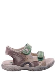 Детские сандалии для мальчиков NATURINO Gavin-grey