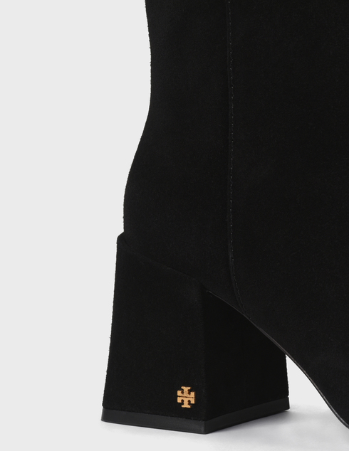 женские черные замшевые Ботильоны Tory Burch 77278-PERFECT BLACK - фото-5