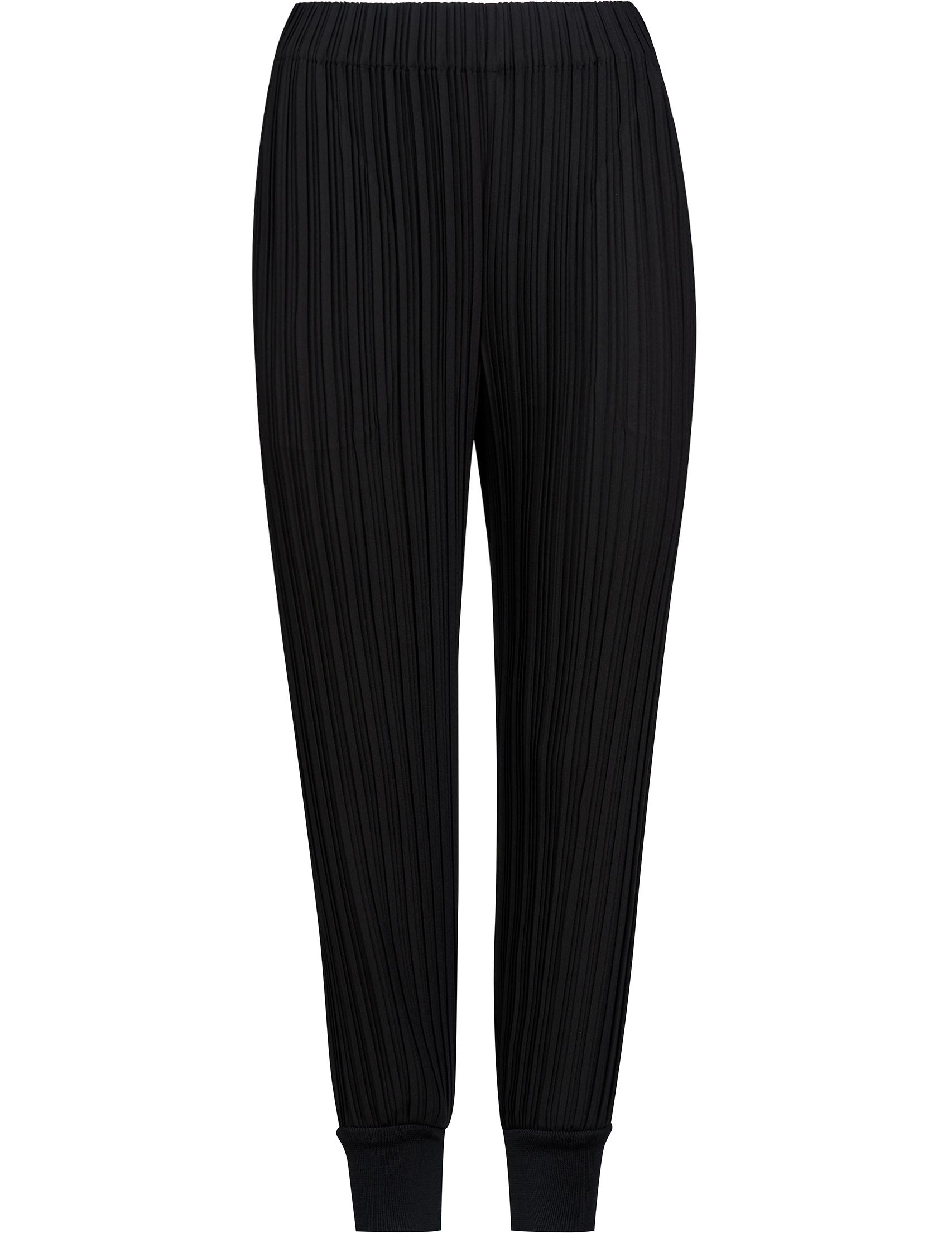 Купить Спортивные брюки, PHILLIP LIM, Черный, 100%Полиэстер, Весна-Лето