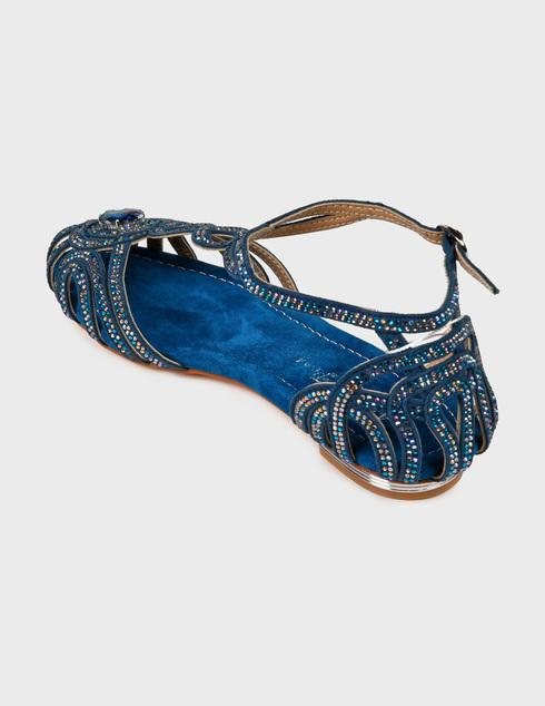 женские синие Сандалии Alma En Pena 104-blue - фото-2