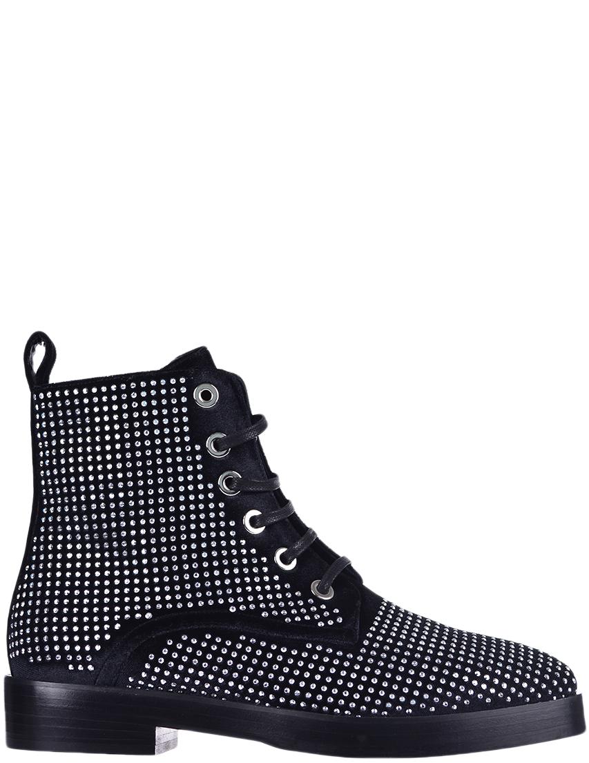 Купить Ботинки, EDDY DANIELE, Черный, Осень-Зима