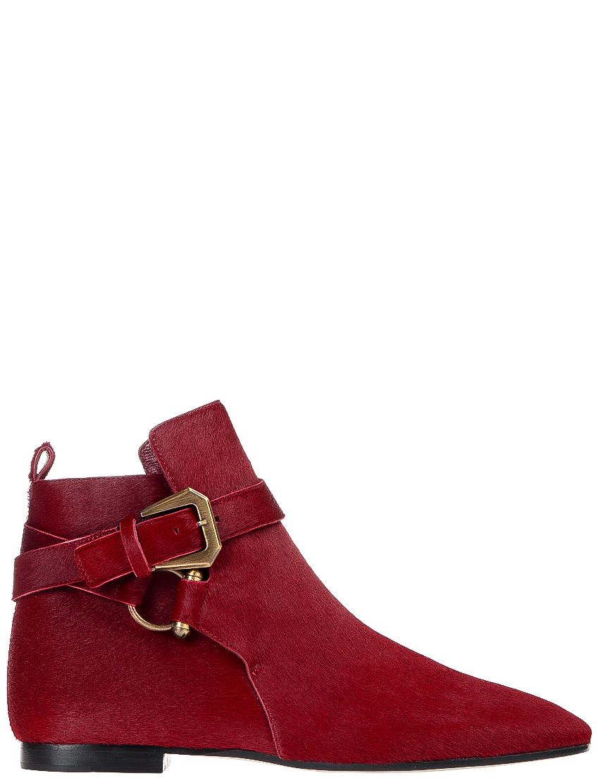 Купить Ботинки, INES DE LA FRESSANGE, Красный, Осень-Зима