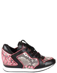 Женские кроссовки ASH 2331-black