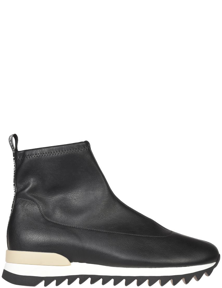 Женские ботинки My Grey 018-К-STR_black