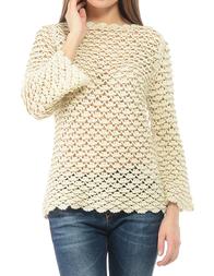 Женский свитер TWIN-SET P3A4BA LATTE/ORO