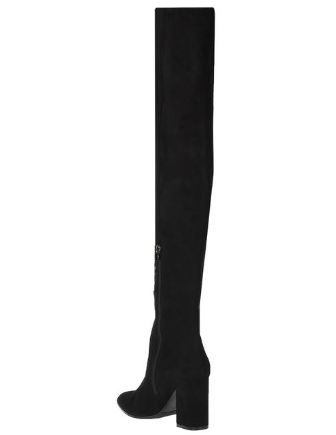 черные женские Ботфорты H'estia Venezia 9680_black 11130 грн
