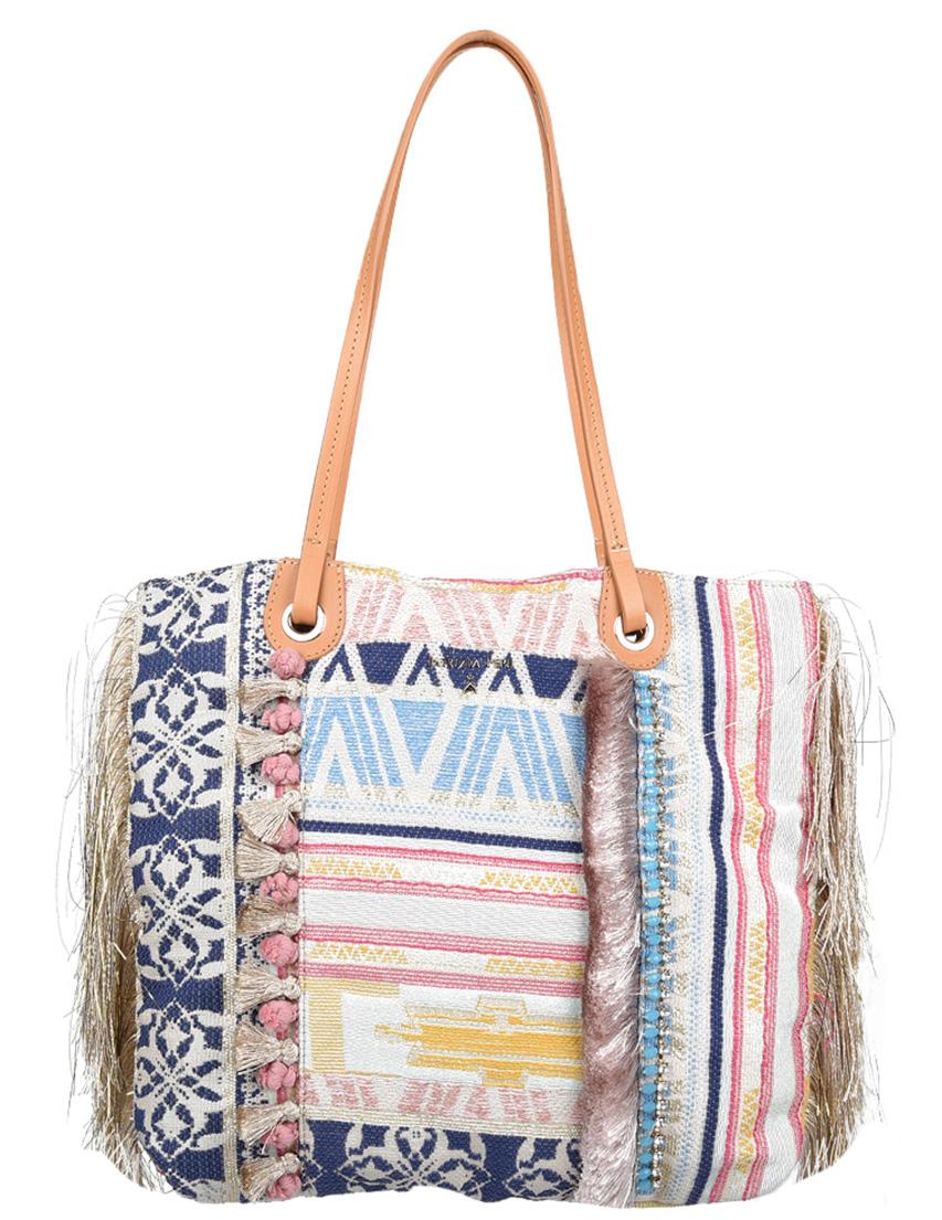 Купить Женские сумки, Сумка, PATRIZIA PEPE, Многоцветный, Весна-Лето