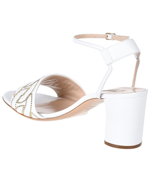 белые женские Босоножки Casadei AGR-594-white 12956 грн