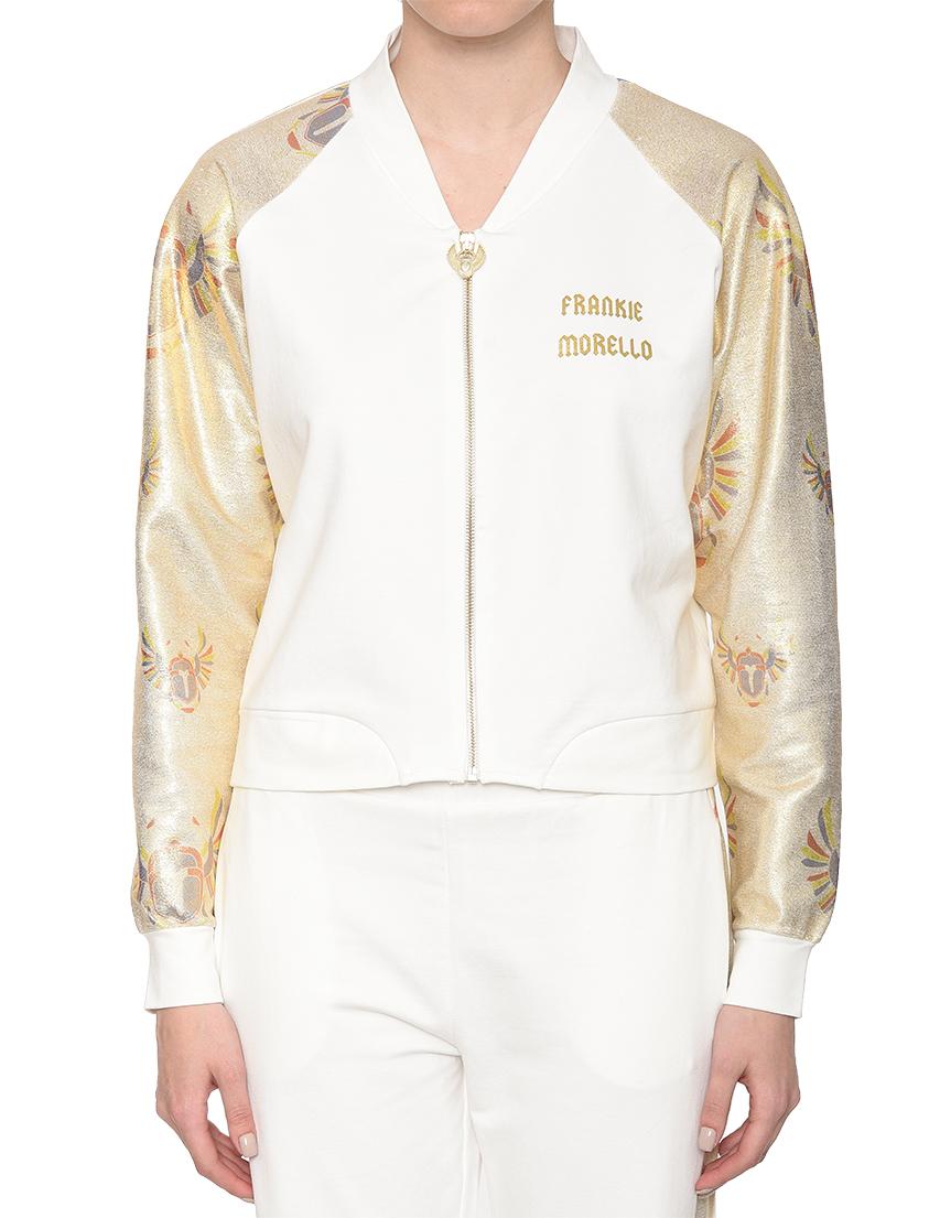 Женская спортивная кофта FRANKIE MORELLO FWCS8195BM-W02-white