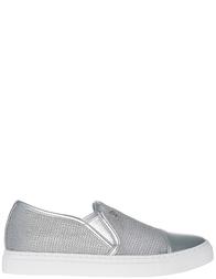 Женские слипоны Armani Jeans AGR-925195-silver