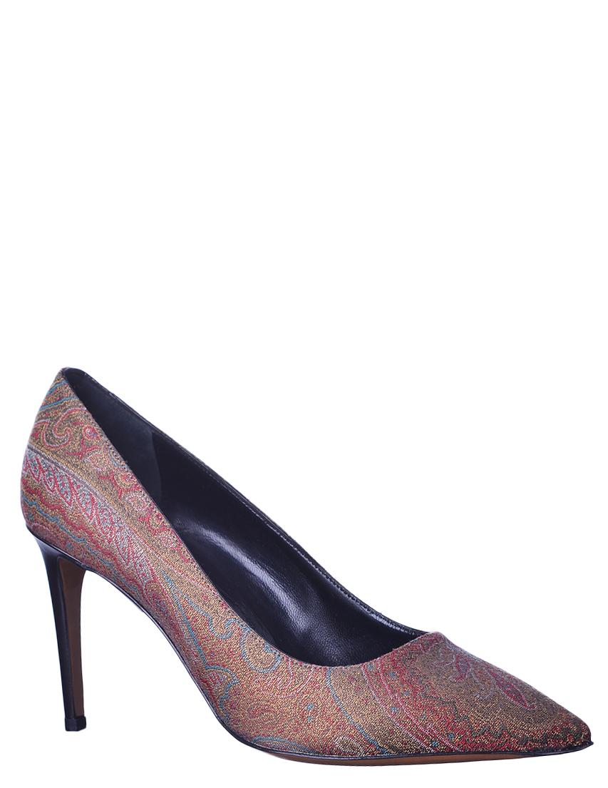 Купить Туфли, ETRO, Многоцветный, Осень-Зима